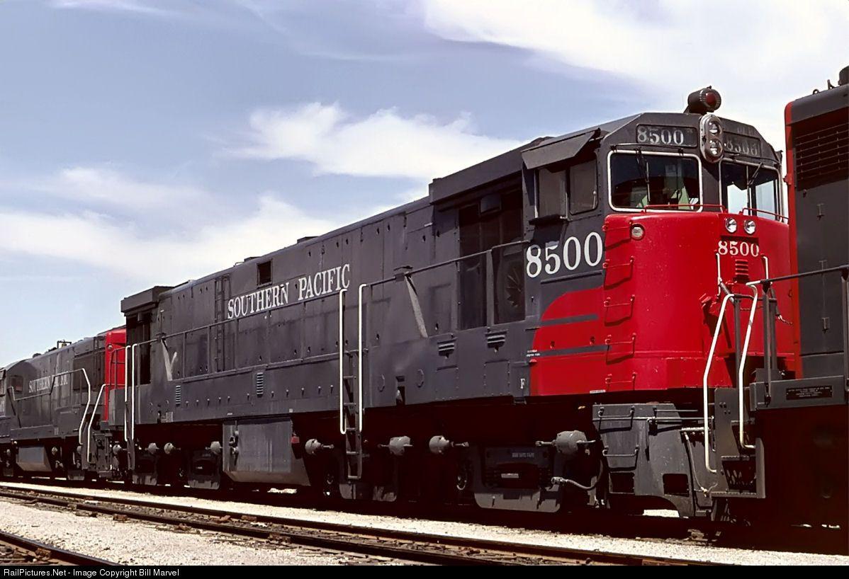 Railpictures net photo 8500 southern pacific railroad ge for General motors el paso tx