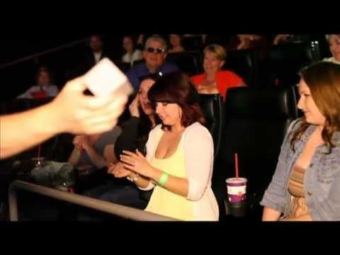 Epic Movie Theatre Marriage Proposal! Richie & Joanne's Engagement(w/ her reaction)