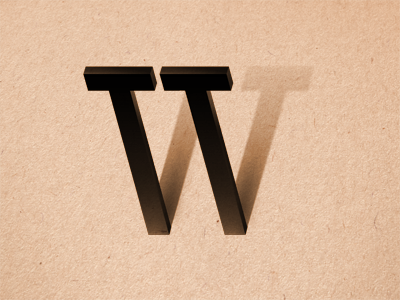 The Letter W, by Gyula Csik