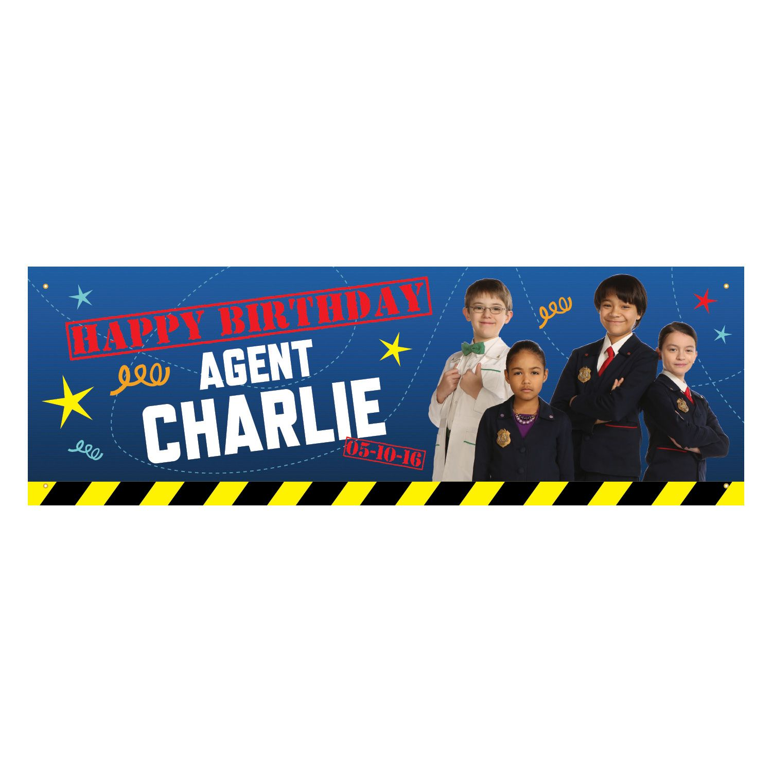 Odd Squad Agent Birthday Banner Pbs kids, Banners and