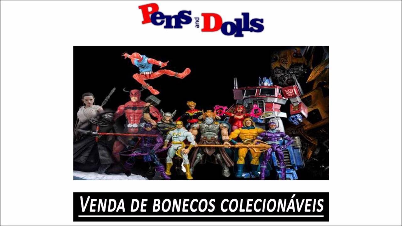Venda de bonecos colecionáveis - Pens and Dolls