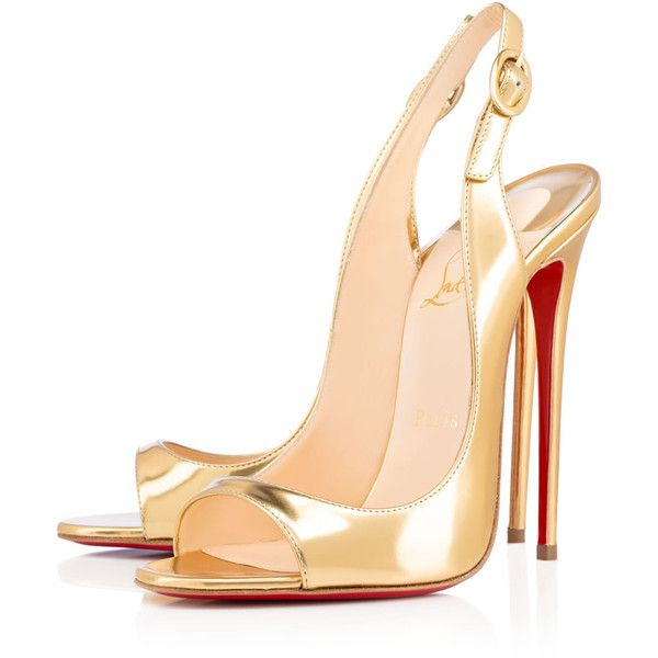 Christian Louboutin Online Store ? liked on Polyvore featuring shoes,  heels, louboutin, sandals