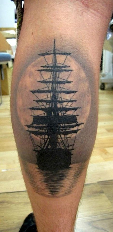 amusing boat tattoo on shank new tattoo designs february 2016 tattoos pinterest tattoo. Black Bedroom Furniture Sets. Home Design Ideas