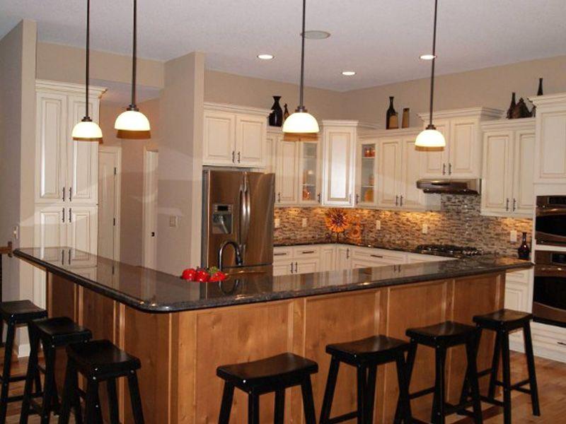 Best Tropical Brown Granite Countertops Updated Kitchen 400 x 300