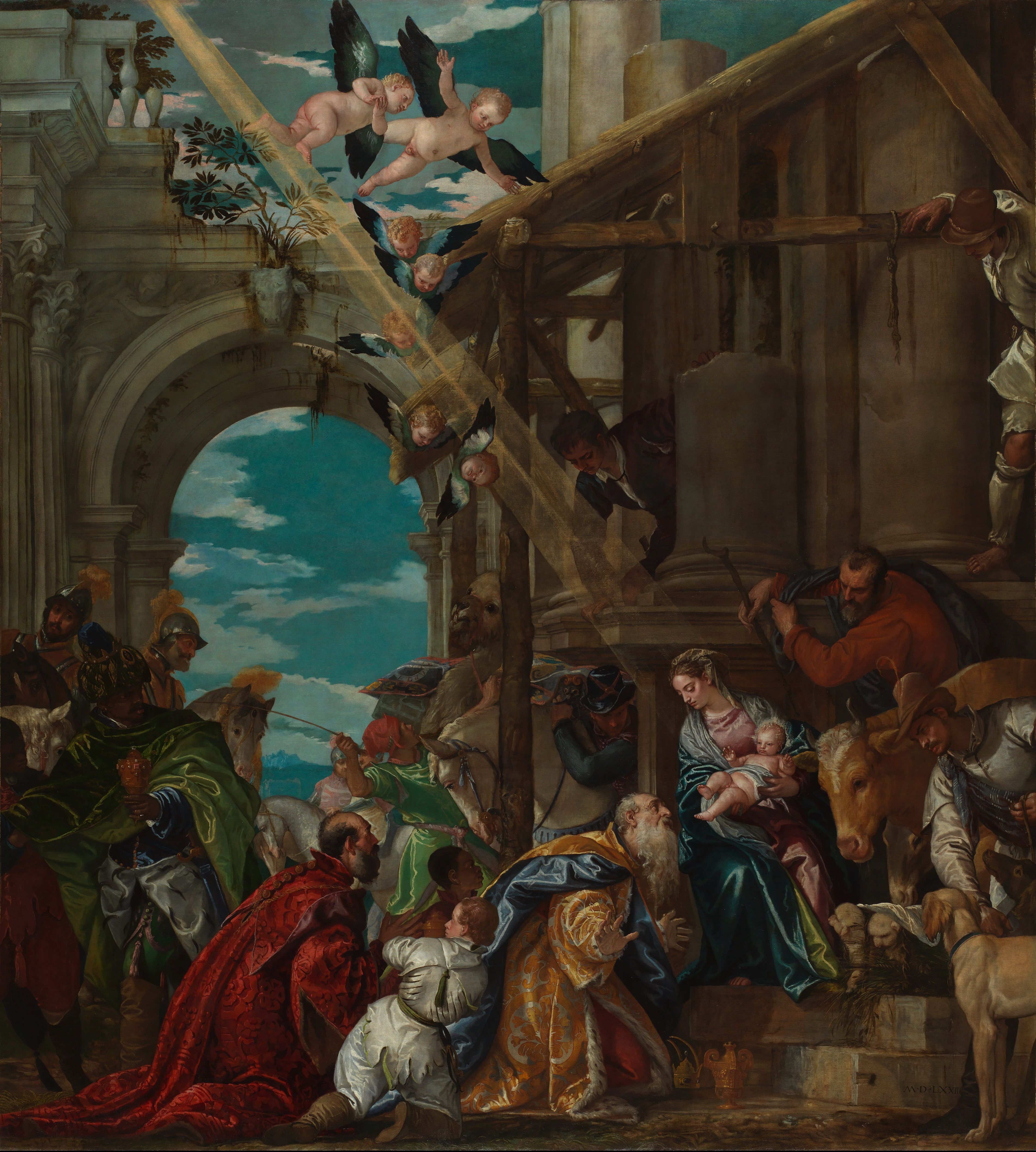Paolo_Veronese_-_Adoration_of_the_Magi_-_National_Gallery.jpg (3804×4231)