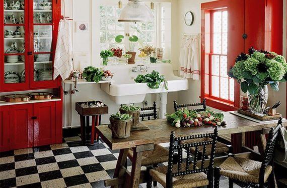 Como Decorar Una Cocina Vintage Interiors And Kitchens - Cocinas-vintages