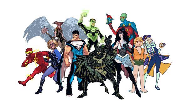 JLA (Justice League) Redesign