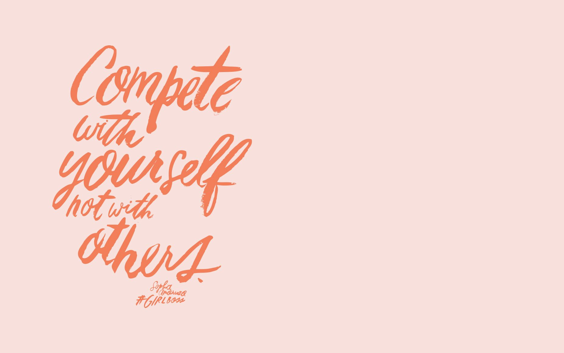 Girlboss Beyourself Girlpower Wonderwoman Desktop Wallpaper Quotes Desktop Background Quote Inspirational Desktop Wallpaper