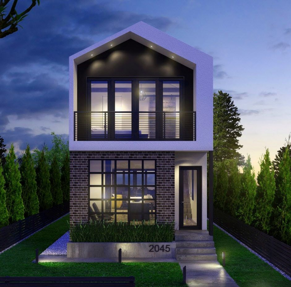 modelos de casas para construir sencillas Casas de dos