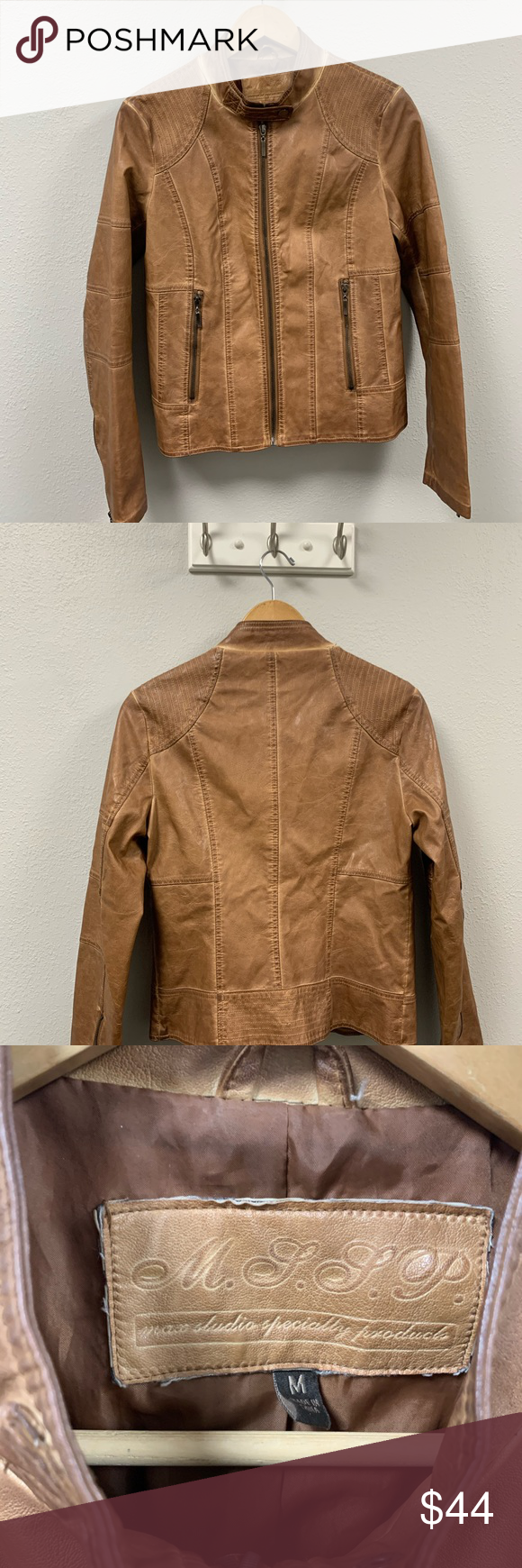Vegan Leather Distressed Jacket Jackets Distressed Jacket Vegan Leather [ 1740 x 580 Pixel ]