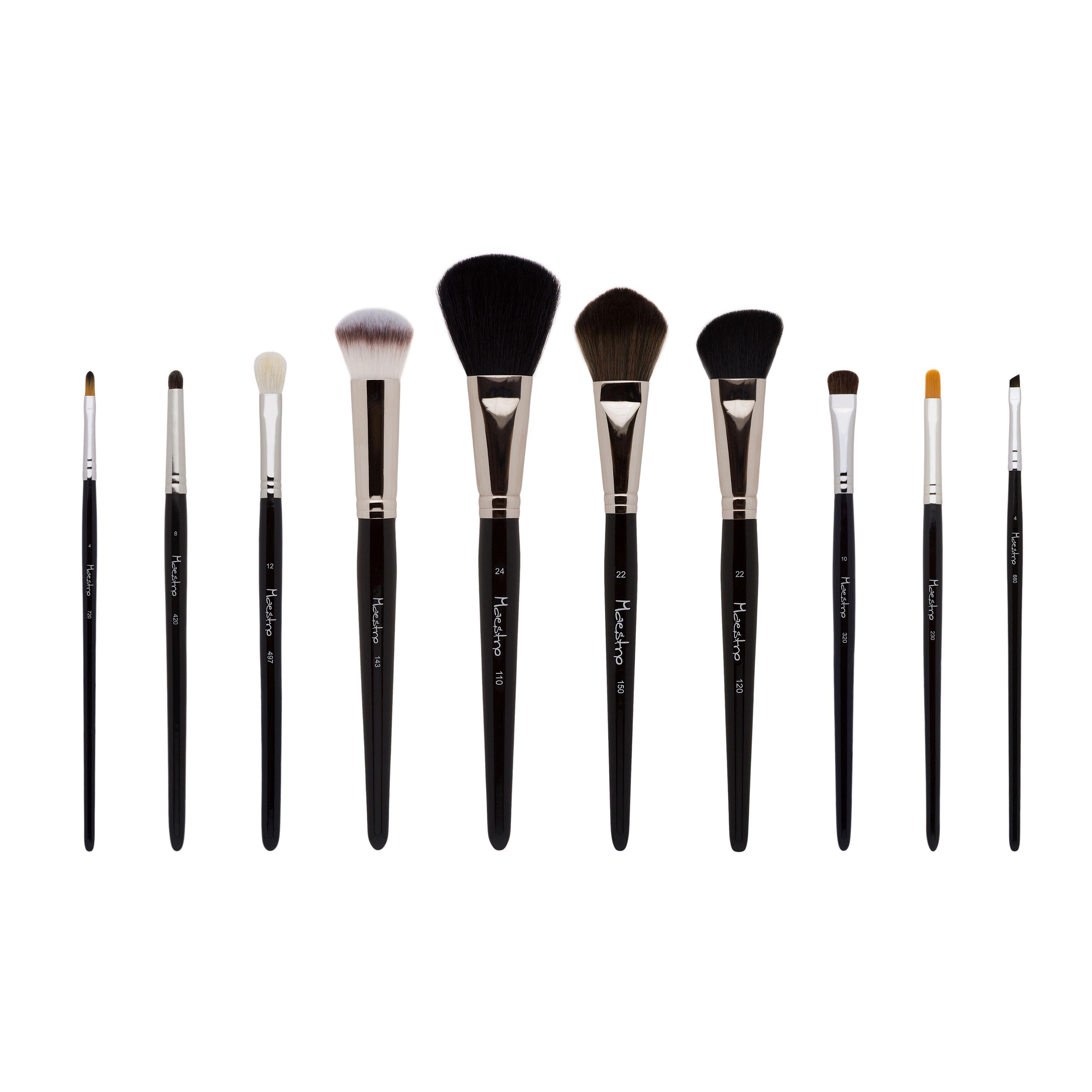 Podstawowy Zestaw Pedzelkow Do Makijazu Makeup Brushes Powder Brush Brush