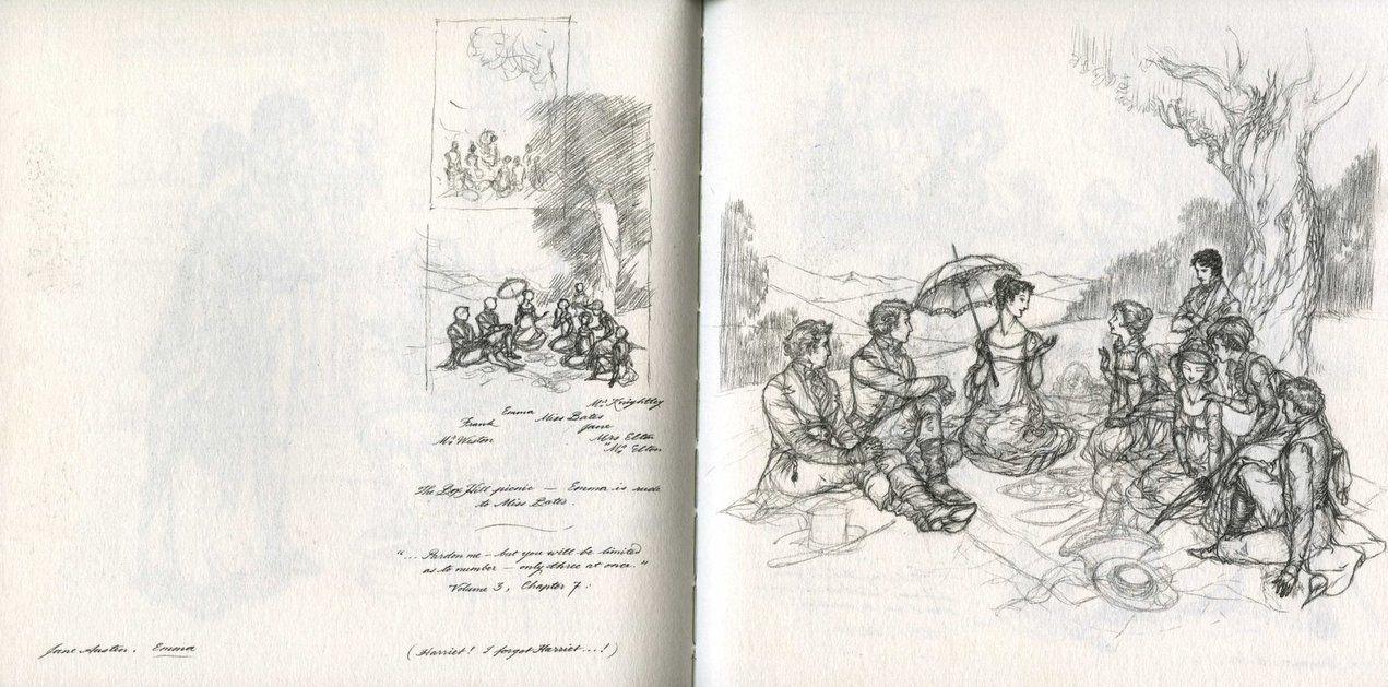 Emma Sketch 1 by *Himmapaan