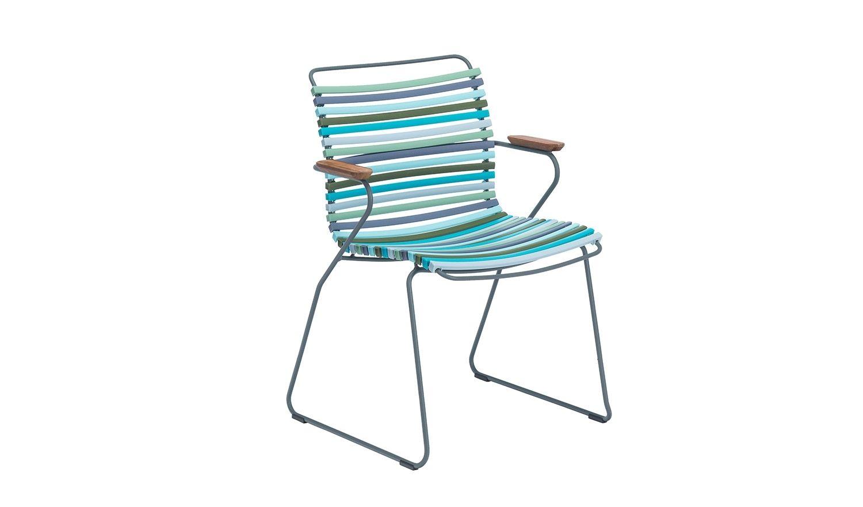 Houe Click Dining Armlehnstuhl Multicolor 2 Outdoor In 2019 Products Armlehnstuhl Rote Stuhle Und Gartenstuhle