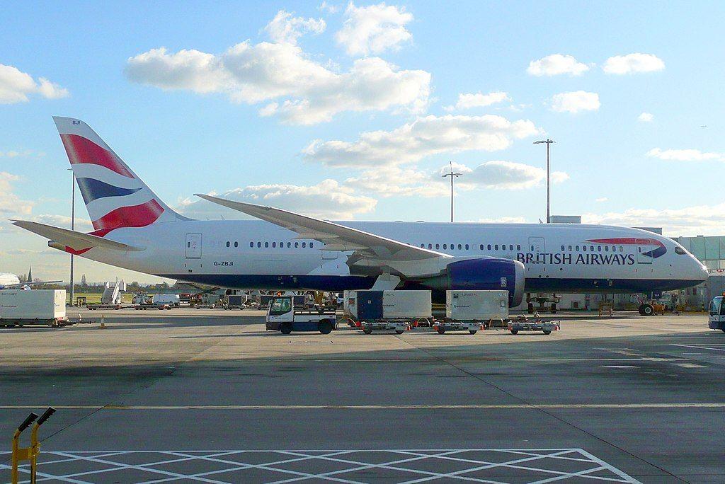 British Airways Fleet Boeing 7878 Dreamliner Details and
