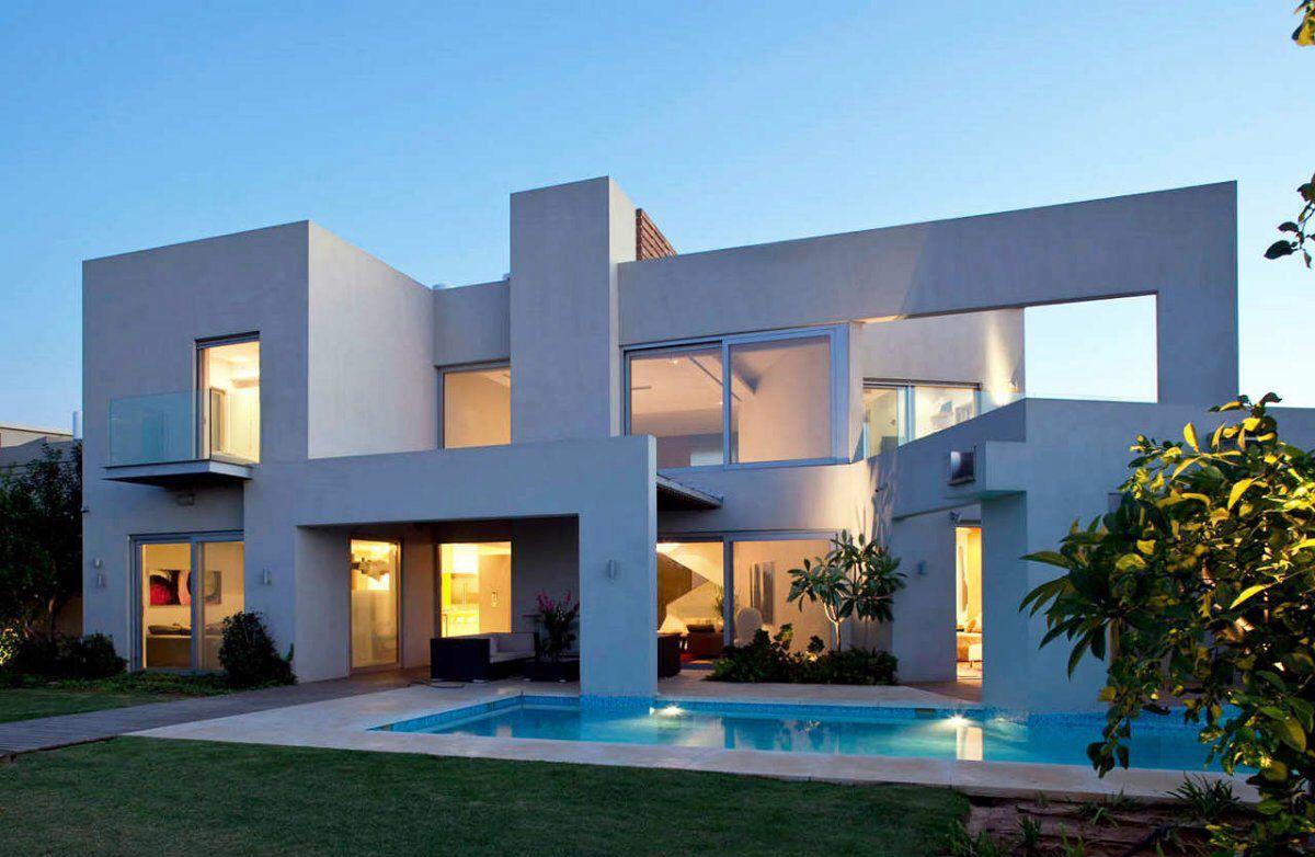 Simple modern house exterior - Luxury Modern House Exterior Design
