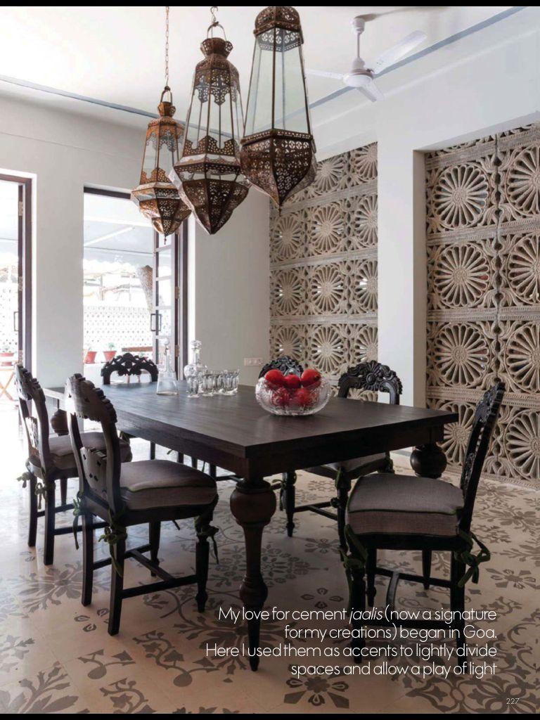 Indian restaurants interior design read elle decor india on magzter  rooms to like  pinterest  elle