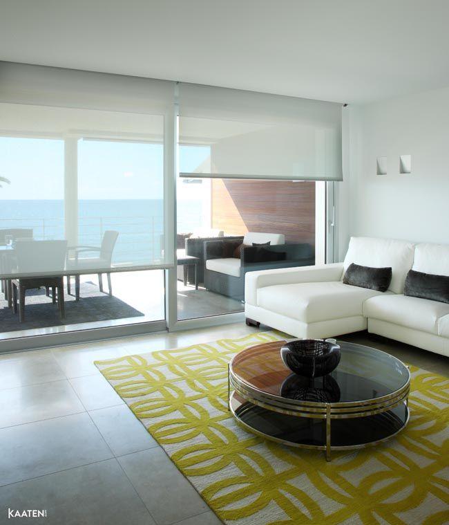 Estores y cortinas en la decoraci n escandinava estilo for Estores de cocina modernos