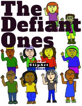 Defiant Clip Art