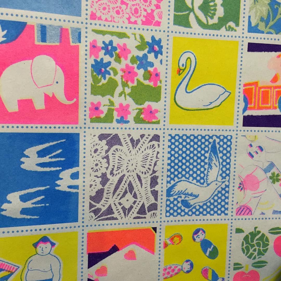 Please get me some stamp design jobs #stamp#riso#risoprint#japanese#design#illustration#colors