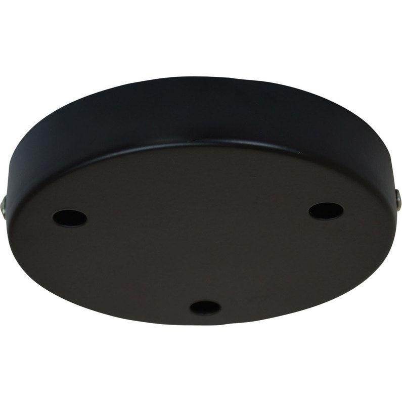 Rosace 3 Câbles Tibelec Métal Noir D120 Achats En 2019