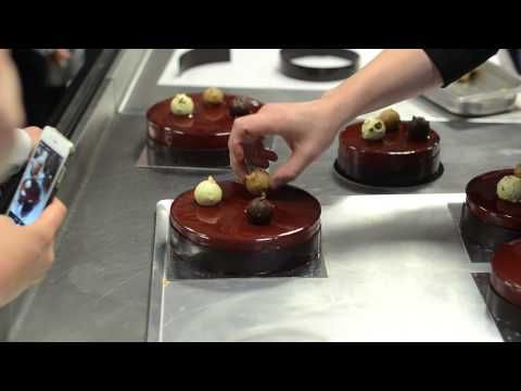 NICOLAS BOUSSIN Pastry Class in Kiev International Culinary Academy, 13-15 November, 2013 - YouTube