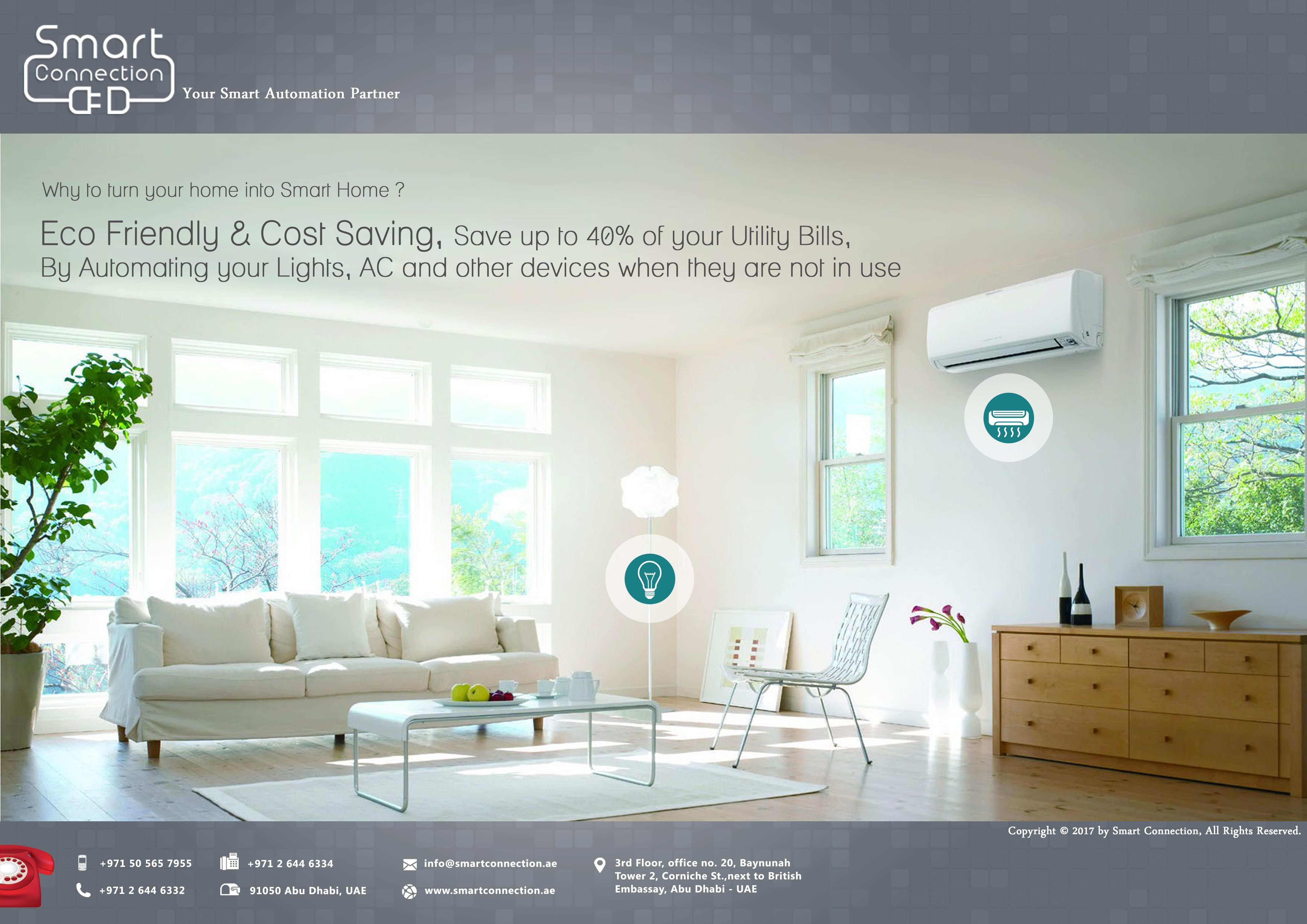 Smart Connection Smart Homes And Building Automation Room Air