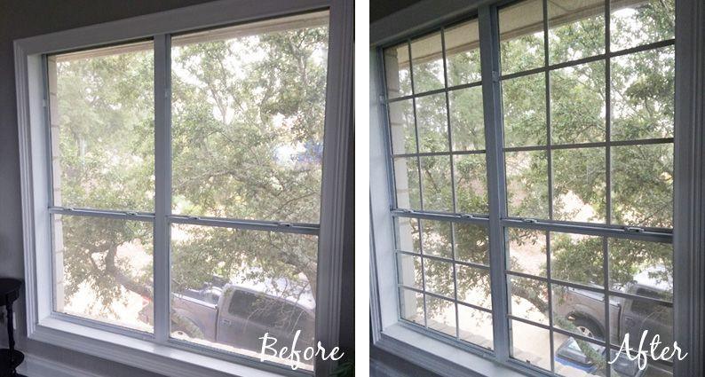 Diy Window Grids Mullions Diy Window Window Grids Farmhouse