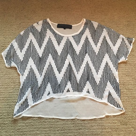 100% silk beaded top great condition fits like med Silk beaded top Leyendecker Tops Blouses