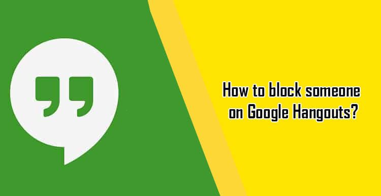 How to #block & #unblock someone on #Google #Hangouts