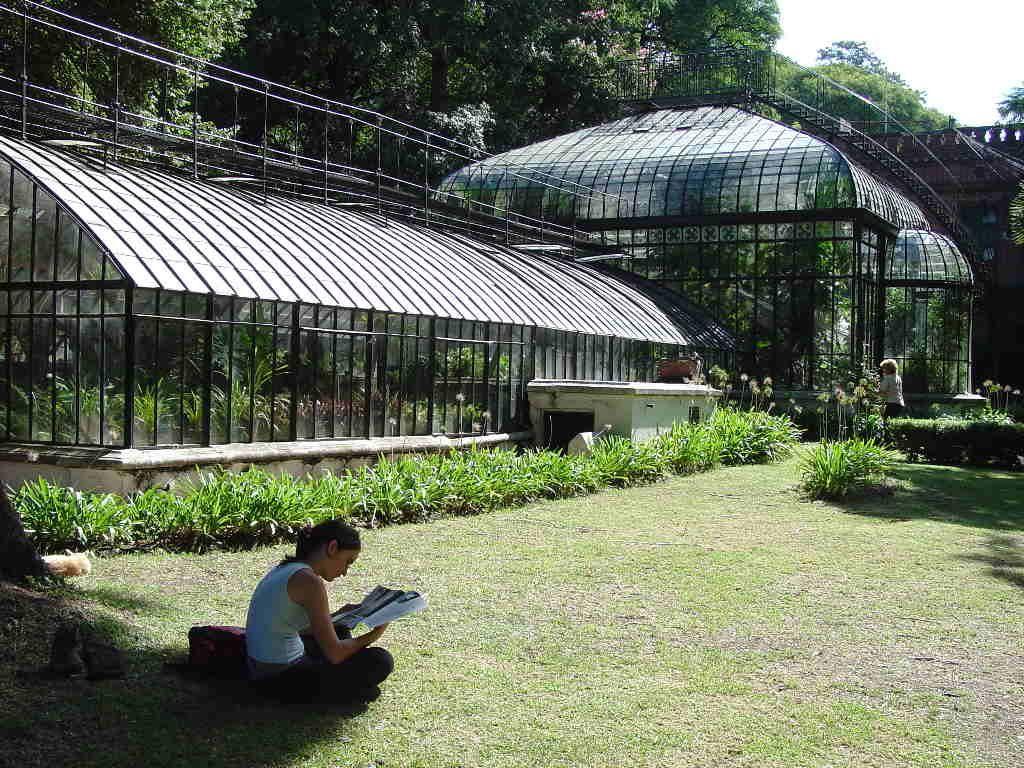 El invernadero del jardin botanico barrio de palermo for Amapola jardin de infantes palermo