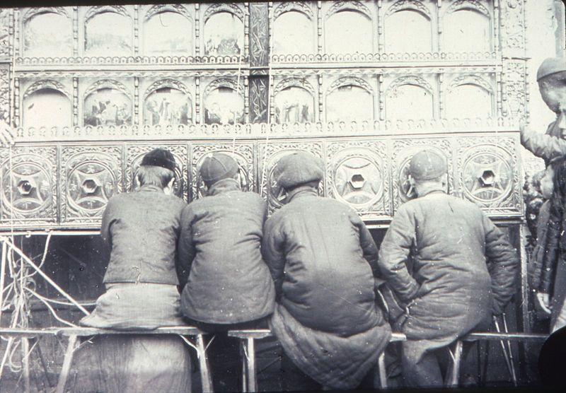 Archivo: Una demostración de pío, Changde, Hunan, China, ca.1900-1919 (IMP-YDS-RG008-358-0008-0013) .jpg
