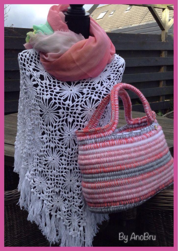 Gehaakte tas voor zonnige zomer!