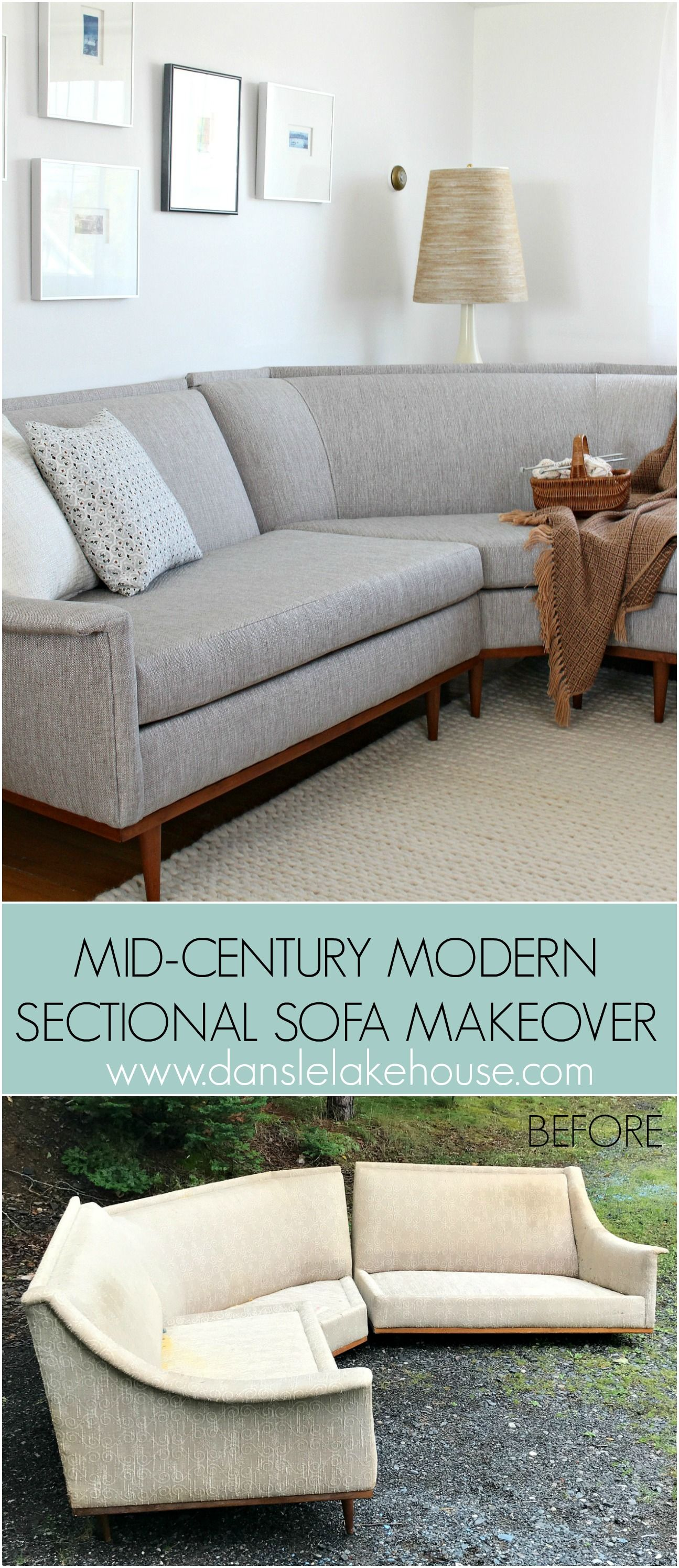 Peachy Mid Century Modern Sectional Sofa Makeover Remodel Ideas Pdpeps Interior Chair Design Pdpepsorg