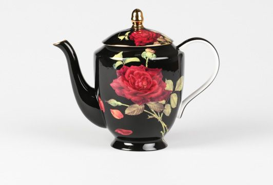 Ruby Rose Tpot Black   T2 Tea