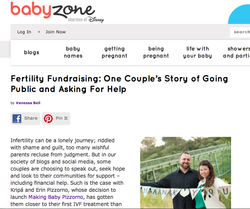 Fertility Fundraising on Good Morning America