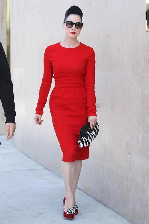 The Dita in Red