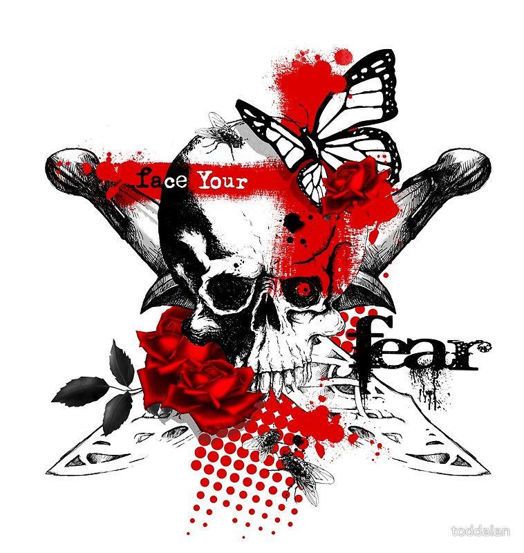 Trash Polka Skull By Mcrdesign On Deviantart: Image Result For Trash Polka Skull Tattoo