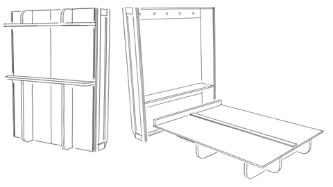 Easy To Build With Our Plans And Kits Wall Bed Murphy Bed