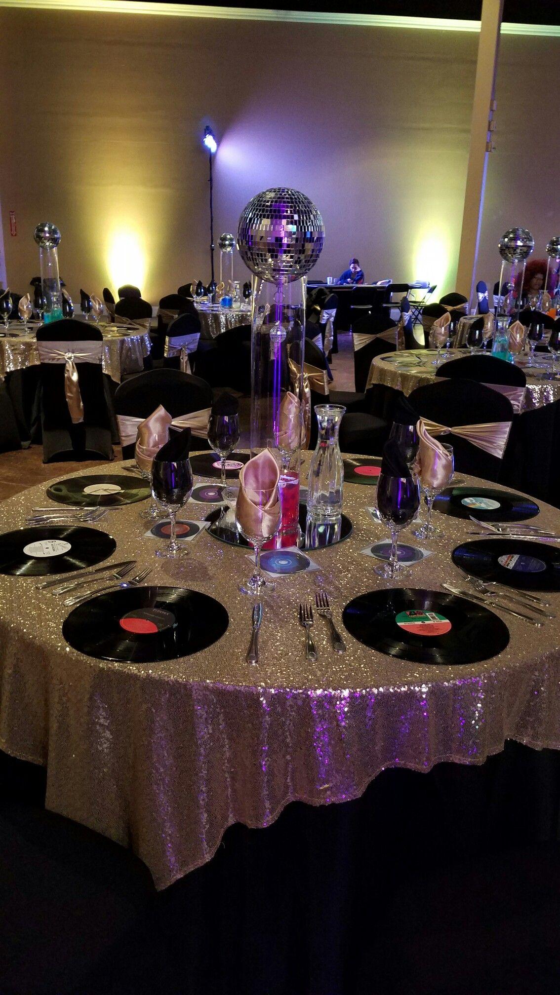 Disco Night  Disco party decorations, Disco birthday