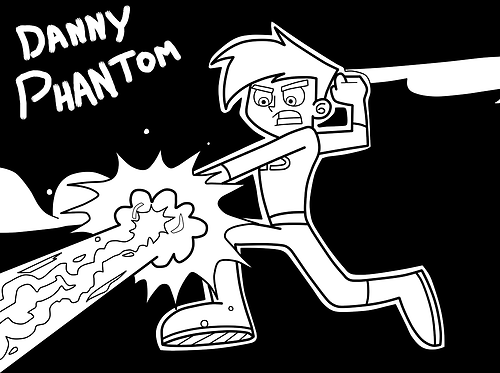 danny phantom coloring pages Google Search cp Pinterest