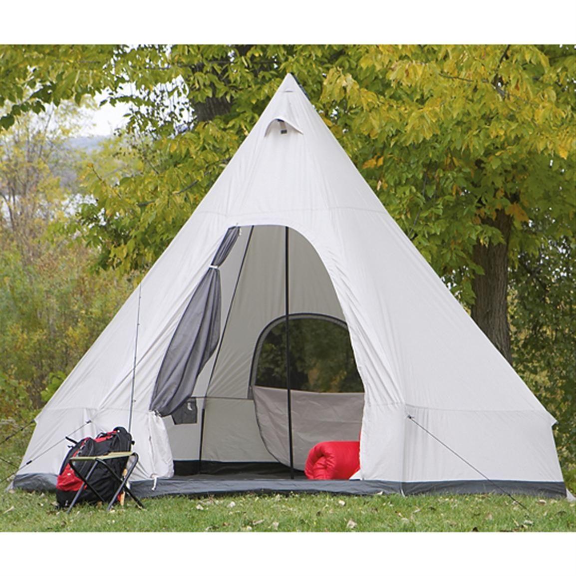 Guide Gear® Triple Wigwam Tent | Tent, Wigwam, Outdoor