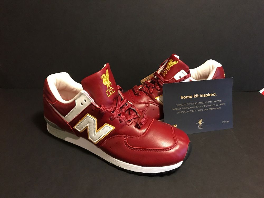 separation shoes c8bfc f25e1 New Balance 576 mens Liverpool FC Limited Edition #150/1204 ...