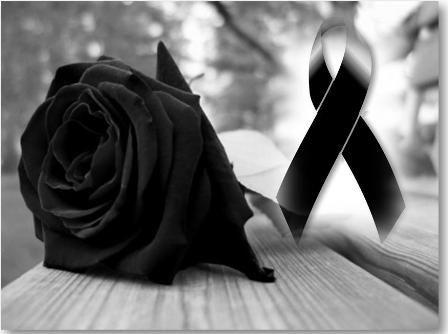 Imagenes De Rosas Negras Y Lazos Negros De Luto Para Descargar