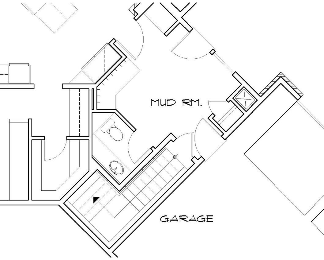 Mascord House Plan B1412   House plans, Stairs and The o\'jays