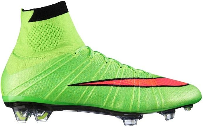 huge sale ab1a1 a3e3c ... ireland the new electric green nike mercurial superfly 2014 boot comes  with vibrant colors and was