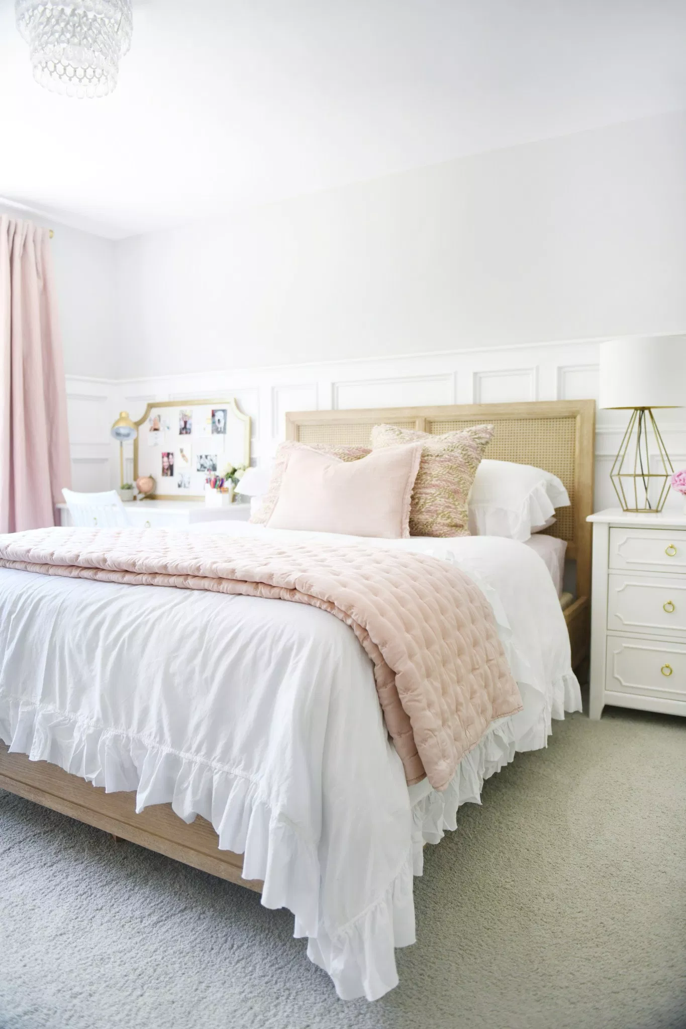 Cute Room Ideas for a Teenage Girl: Teen Bedroom Before and After images