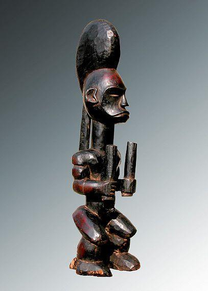 FANG - Gabon Legno e pigmenti cm 51,5