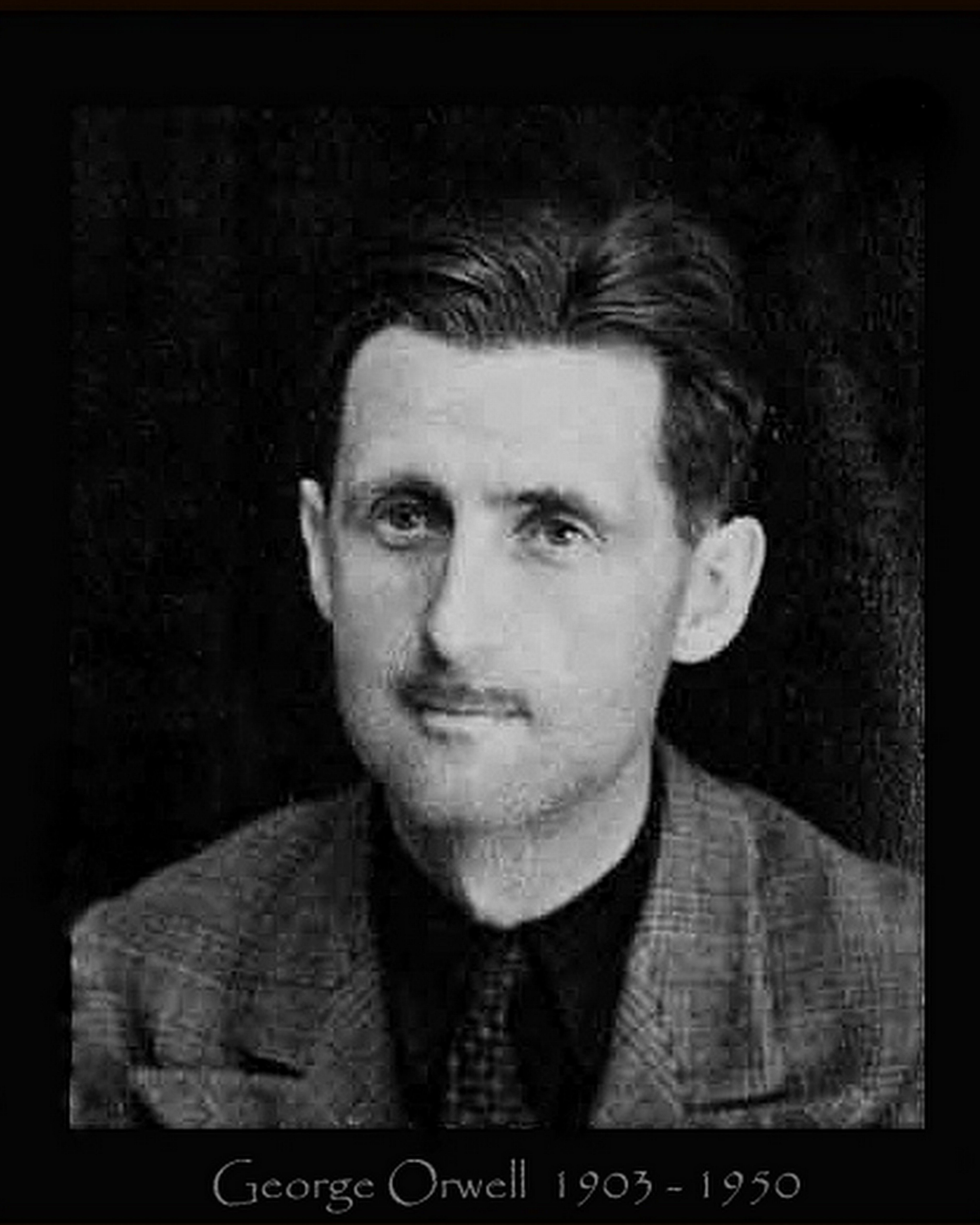 English Writer George Orwell 1903 1950 Is Best Known For