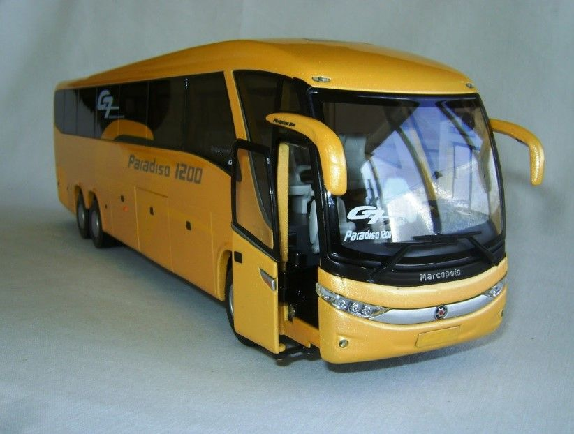 Marcopolo Paradiso 1200 G7 Bus Model Diecast Very Rare Transportes