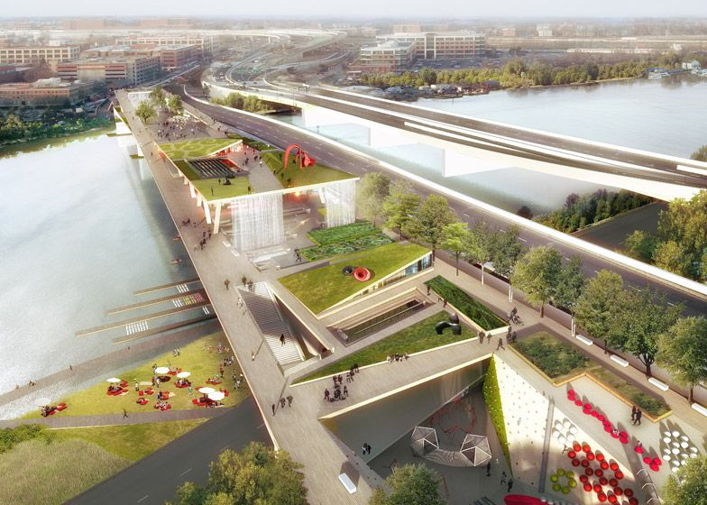 Garden Bridge Plans London Ftempo Inspiration